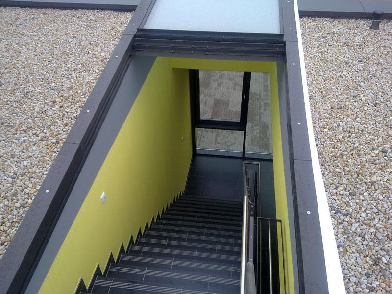 Dachausstieg Treppe dachausstieg für flachdächer und dachausstiegsfenster verasonn